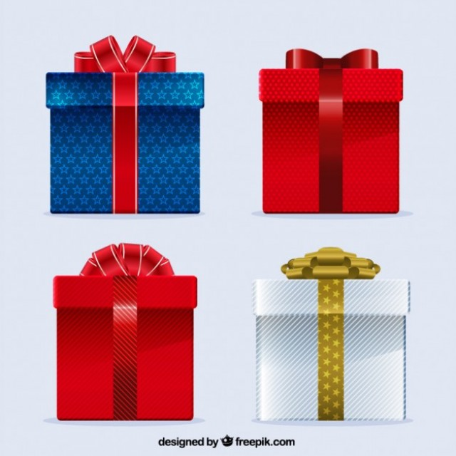 Free vector gift boxes #28389