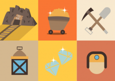 Free vector Gold Mine Free Vector #30963
