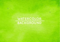 Free vector Green watercolor background #29996