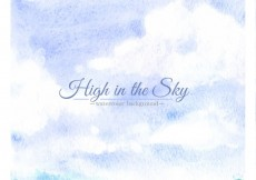 Free vector High in the sky background #29654