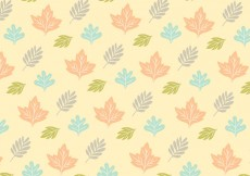 Free vector Leafy Pattern Background Vector #28768