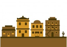 Free vector Old west town #33083