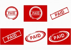 Free vector Paid stamp #31246