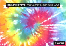 Free vector Realistic Dye Tie Free Vector Background Vol. 2 #28352