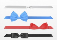 Free vector Ribbon bow collection #29437