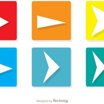 Free vector Square Next Icons Vector Pack #34596