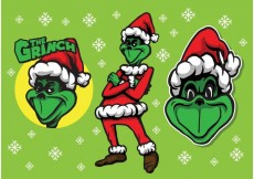 Free vector The Grinch #34422