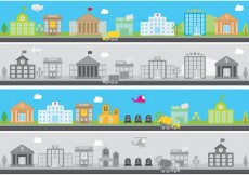 Free vector City Banners #34276