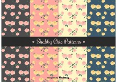 Free vector Free Shabby Chic Patterns #33031