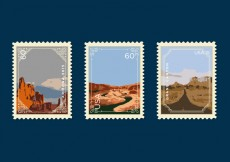 Free vector Vector Grand Canyon Postage Stamp #29635
