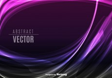 Free vector Purple abstract waves #28990