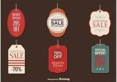 Free vector Sale Season Tags #32689