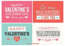 Free vector Valentines Day Labels #33263