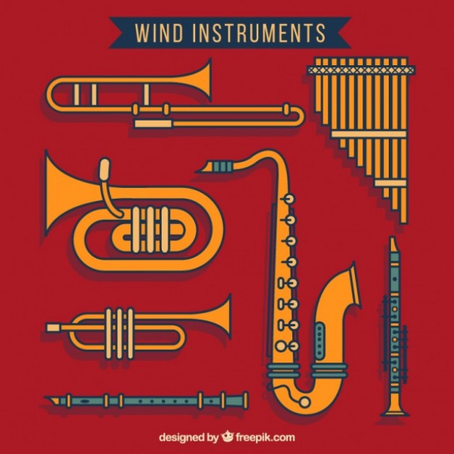 Free vector Wind instruments #33050