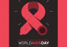 Free vector World aids day poster #29235