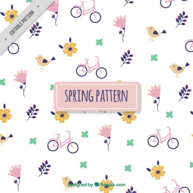 Spring is here: Download the best 25 spring patterns now