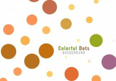 Free vector Abstract colorful dots background #12