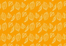 Free vector Autumn leaves pattern #2086