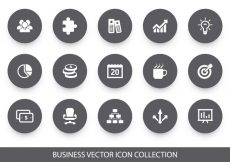 Free vector Business Vector Icon Collection #371