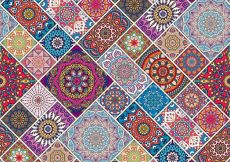 Free vector Colorful ethnic pattern #3137