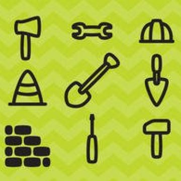 Free vector Construction Icons Vectors #2057