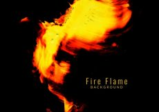 Free vector Elegant fire flame background #2011