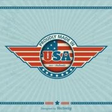 Free vector Free Made In USA Retro Vector Label #2009