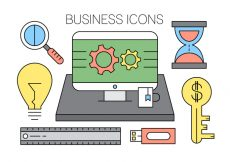 Free vector Free Office Icons #1509