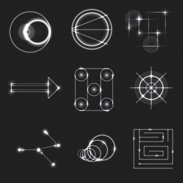 Free vector Light symbol collection #3525