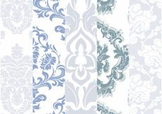 Free vector Mix pattern background collection #1779