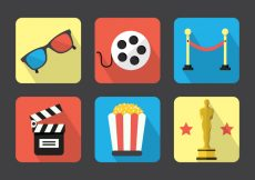 Free vector Movie Vector Icons #3301