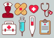 Free vector Nurse Vector Icon Set #967
