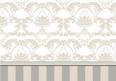 Free vector Ornamental background with stripes #1993