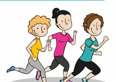 Free vector Running people pack #1030