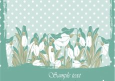 Free vector Spring blackground with dots #1711