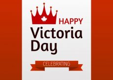 Free vector Victoria day background with ribbon #370