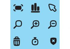 Free vector Web Vector Icons #1423