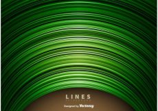 Free vector Abstract Green Lines Background #11886