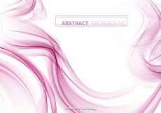 Free vector Abstract Pink Smoke Vector Background #10889
