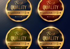 Free vector Best quality luxury labels #3942