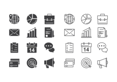 Free vector Business Icons Vector #8623