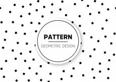 Free vector Dotted black and white pattern #5193
