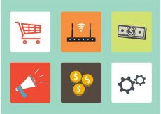 Free vector Flat Icons Vector Set #9761