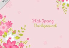 Free vector Flat spring background #11381
