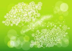 Free vector Flowers And Scribbles #5055