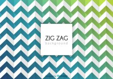 Free vector Free Abstract Zig Zag Vector Background #10867