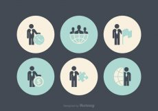 Free vector Free Business Man Icon Vectors #5864