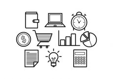 Free vector Free Line Icons Business Vector #9447