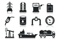 Free vector Free Oil Icons Vector #8052