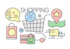 Free vector Free Shopping Icons #8983